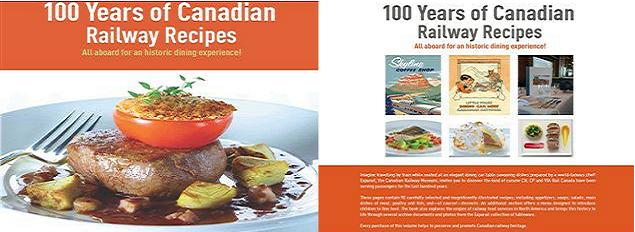 100 Years of Canadian Railway Recipes